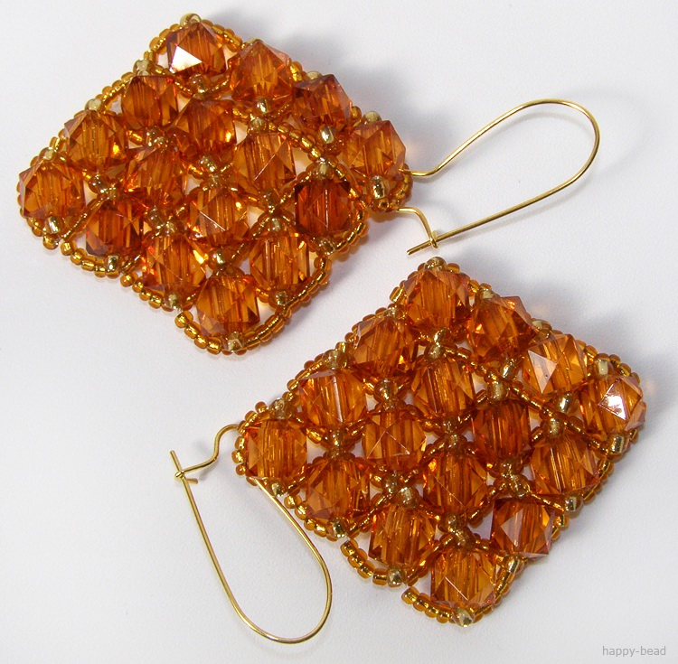 Ear rings «Honey pleasure»