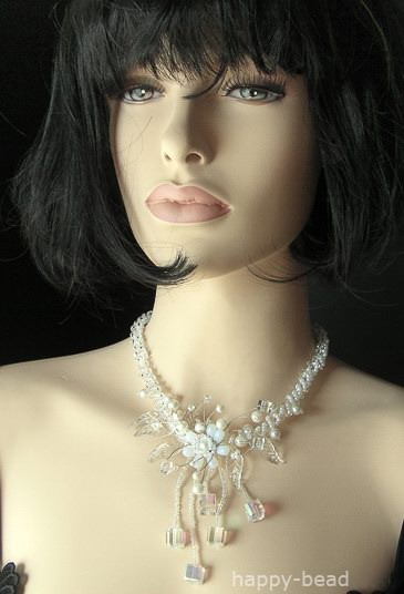 Necklace «The happy bride»