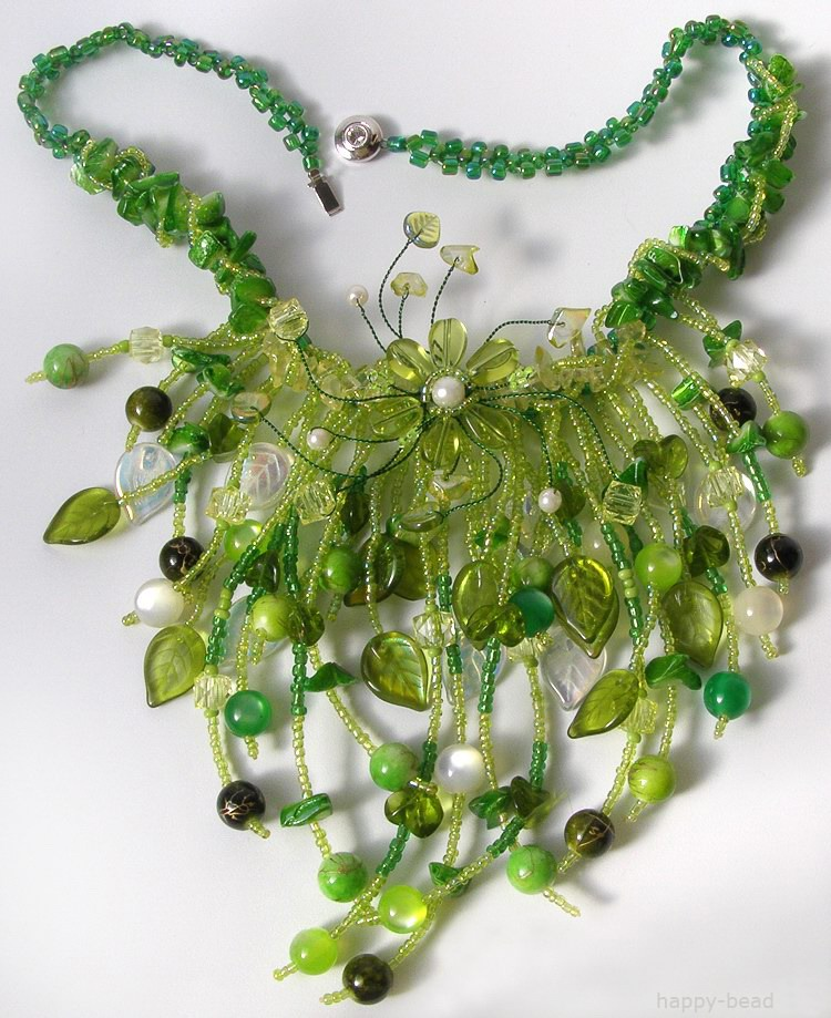Necklace «Spring mood»