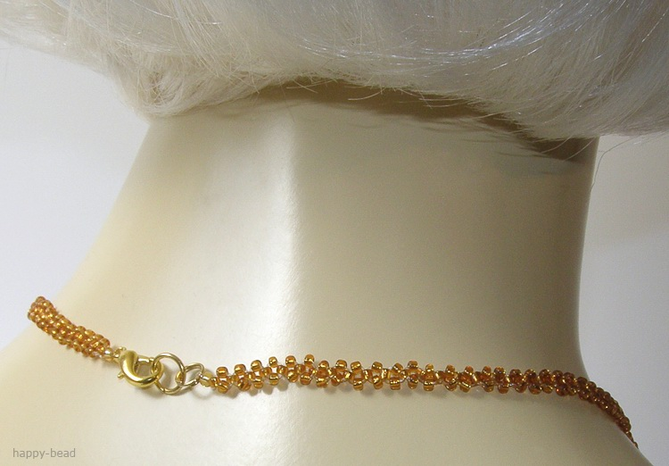 Necklace «Honey pleasure»