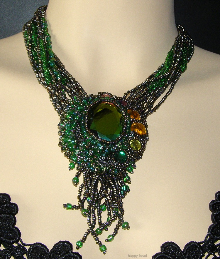 Necklace «Draconian eye»