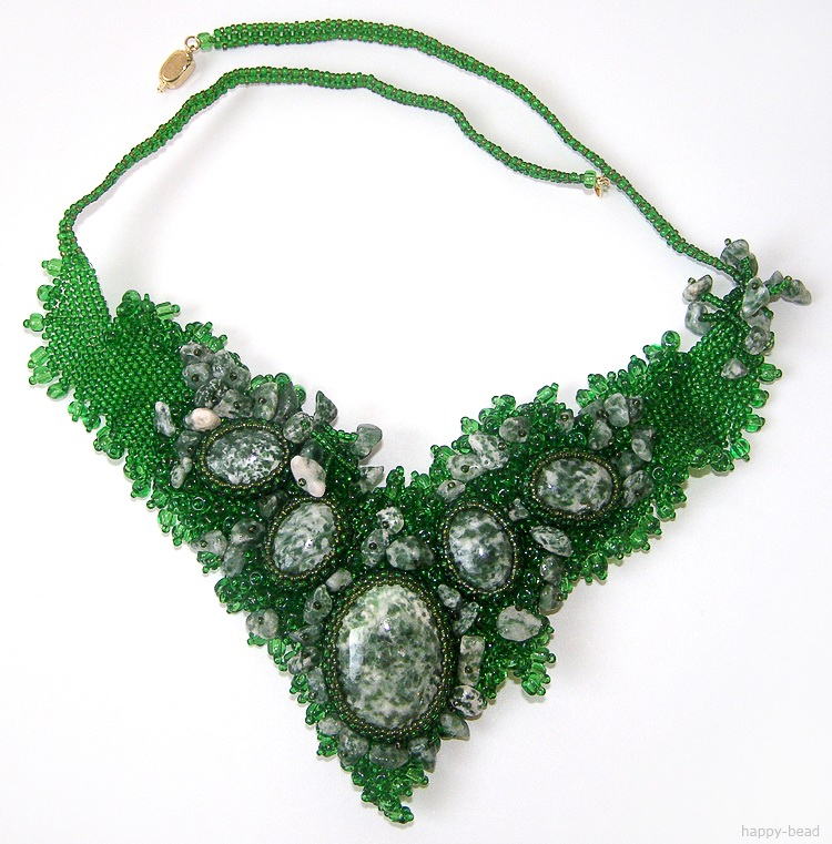 Necklace Rainforest impressions